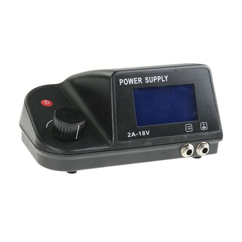 digital tattoo power supply digital power supply set foot pedal clip cord lcd 220v