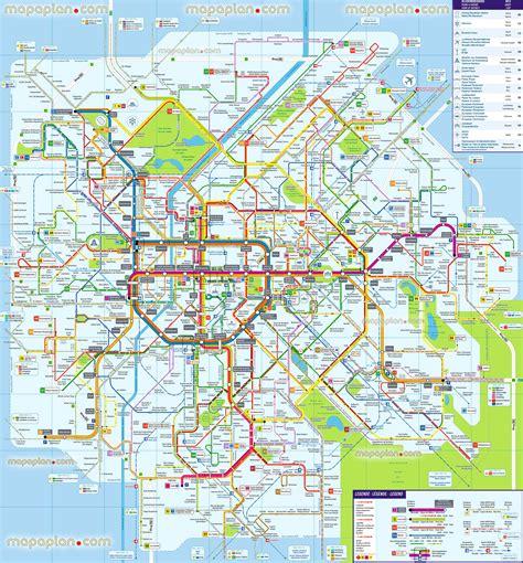 transport map transport map brussels world maps