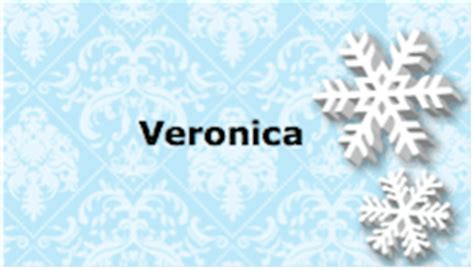 snowflake place card template printable snowflake place card