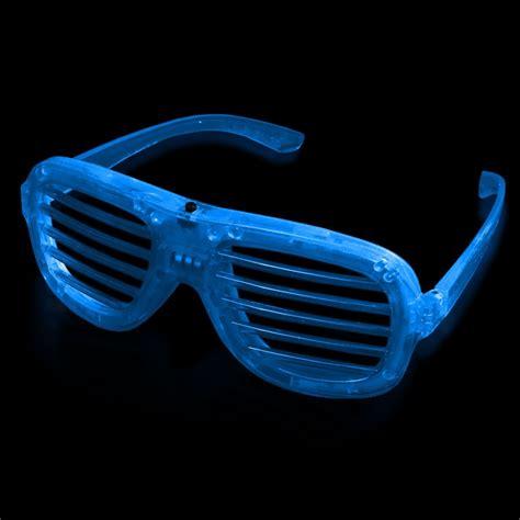 led lights for glasses blue led slotted glasses sunglasses eyeglasses masks