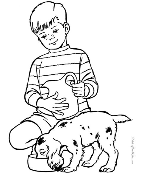 coloring page of pet animals animal coloring sheets pet puppy to color coloring home