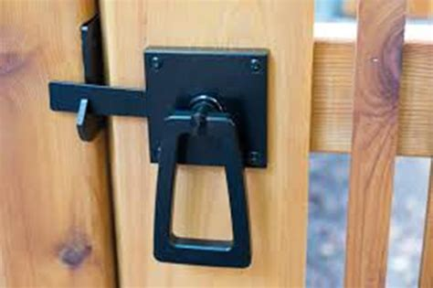 backyard gate lock gate latch hardware information series securing your