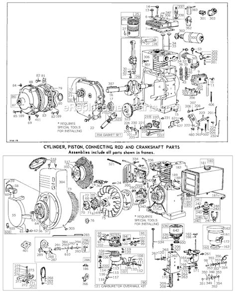 briggs and stratton intek 19 hp wiring diagram gallery