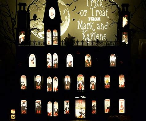 printable halloween advent calendar related keywords suggestions for halloween advent calendar