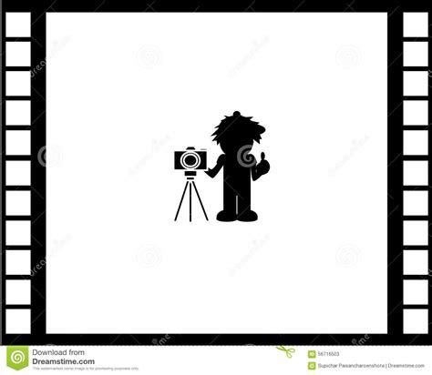wallpaper camera cartoon camera film wallpaper stock illustration illustration of