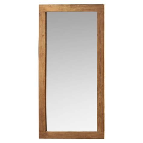 The Mirror by Raft S Reclaimed Teak Mirror Available As A Leaning Mirror And Other Various Wall Mirror Sizes