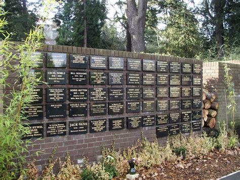 memorial garden cemetery