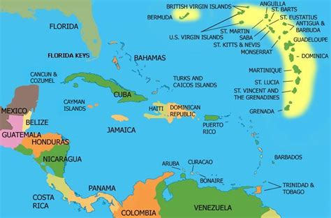 map of the caribbean islands ultimate honeymoon the caribbean for free with airways avios weekend blitz