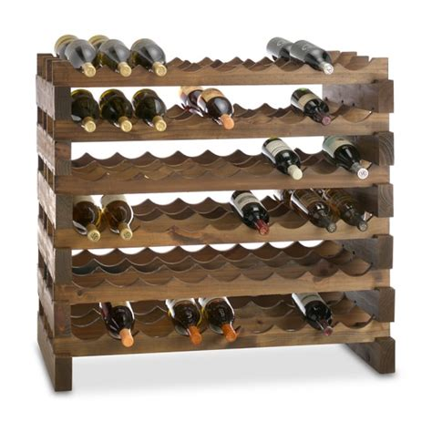 Modular Australian Pine Wine Racks   Williams Sonoma