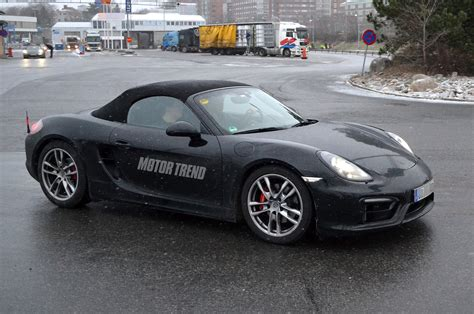 porsche prototype 2015 2015 porsche boxster gts prototype front view photo 11