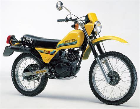 Dr 125 Suzuki 1982 Suzuki Dr 125 S Moto Zombdrive