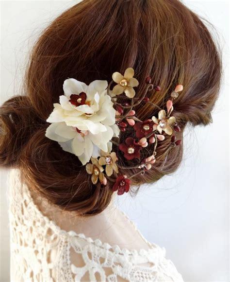 Wedding Hair Accessories Burgundy by Wedding Hair Accessories Burgundy Vizitmir