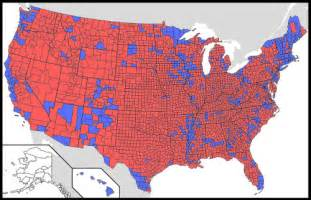 2012 Election Map By County by Truthhunter Author At The Truth Hunter
