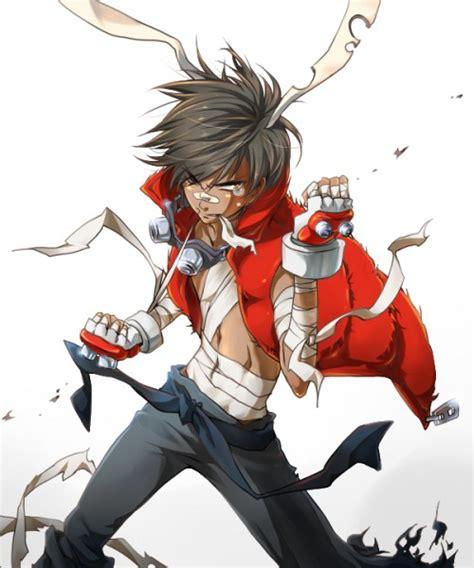 fight stance zerochan anime image board