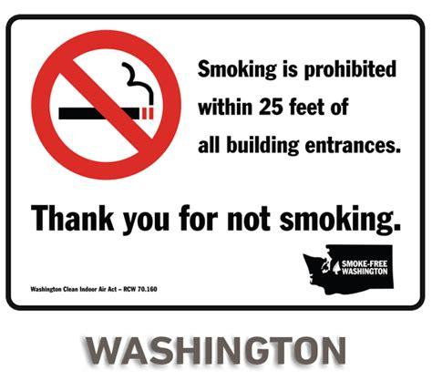 no smoking sign washington state washington no smoking sign by safetysign com r5744
