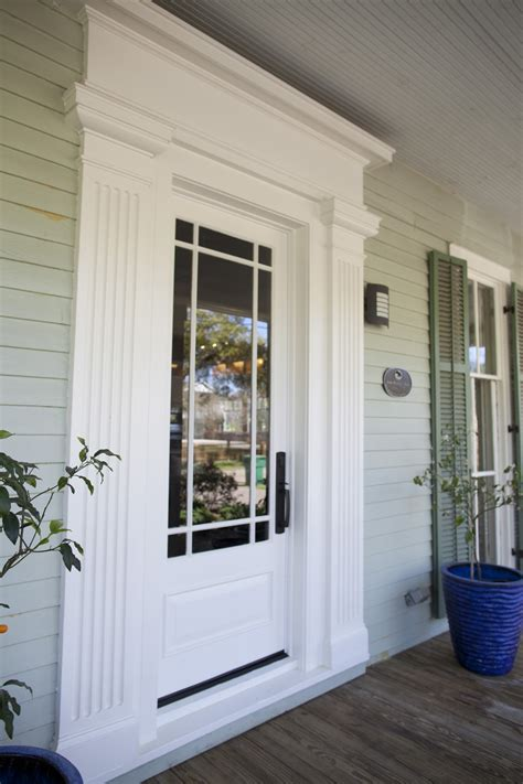 Entry Door Pediments by Northshore Millwork Llc Doors