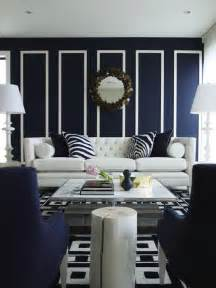 Navy Blue Room Decor by Navy Blue Living Room Design Living Room