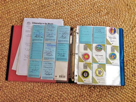 merit badge award card template scout binder boy scout resources cub scouts wolf cub