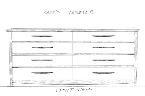 8 drawer dresser an experiment in joinery design part