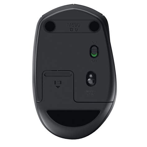 Original Logitech M590 Multi Device Wireless Mouse Device Silent logitech wireless mouse m590 multi device silent graphite souris pc logitech sur ldlc