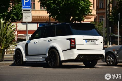onyx range rover new range rover onyx is just as brutal as its predecessor