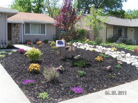 home depot front yard design home depot front yard design image gallery lawn bark