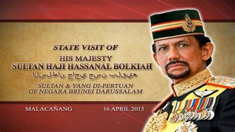 sultan hassanal bolkiah palace state visit of h m sultan haji hassanal bolkiah of negara