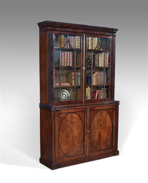 Library Cabinets Bookcases antique library bookcase georgian bookcase bookcases and display cabinets