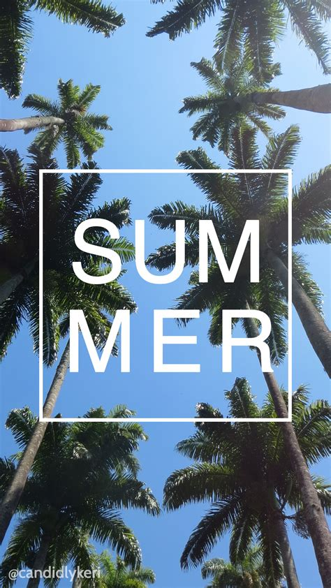 tree wallpaper pinterest summer palm tree ocean background wallpaper you can