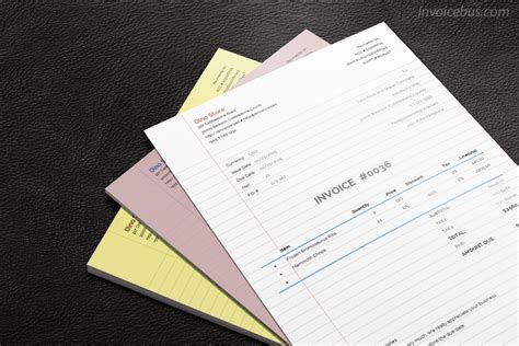 How To Make Printer Paper Feel Like Money - paperlike invoice template