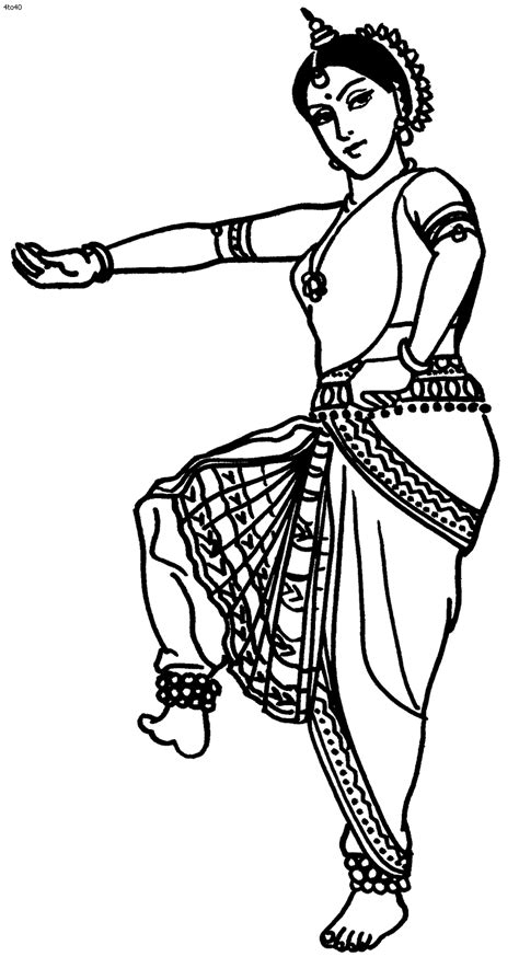 coloring pages for india great website with tons of indian folk dance coloring
