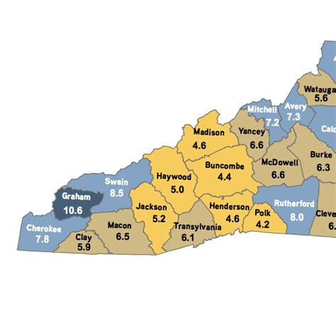 section 30 unemployment 18 wnc counties post decreases in unemployment carolina