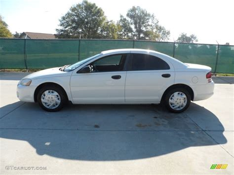 white dodge stratus 2004 white dodge stratus se sedan 56873820 photo 6