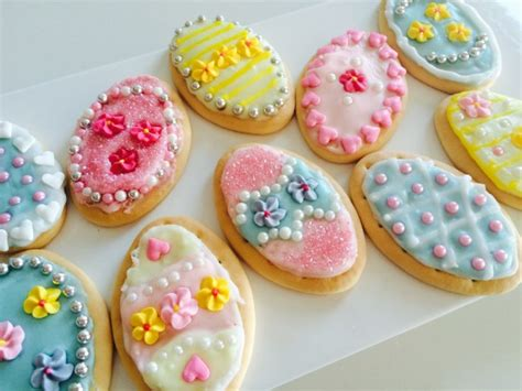Biscuits For Decorating Recipe by Easy Easter Egg Biscuits School