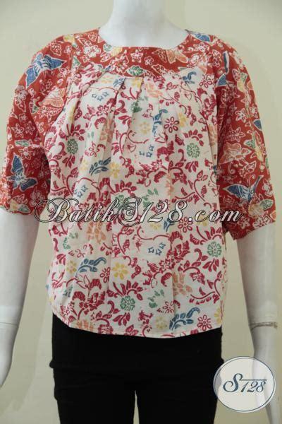 desain baju batik santai baju batik santai perempuan muda yang peduli fashion blus