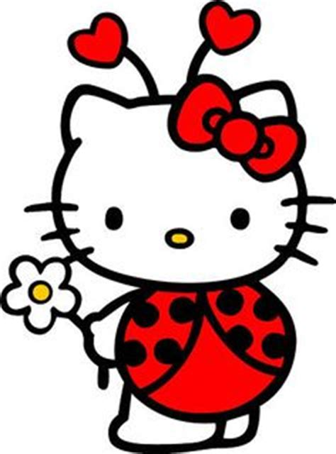hello kitty ladybug coloring pages 1000 images about party ladybug girl on pinterest