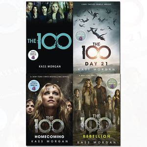kass morgan the 100 series 4 books collection set pack rebellion homecoming new 9789123548736