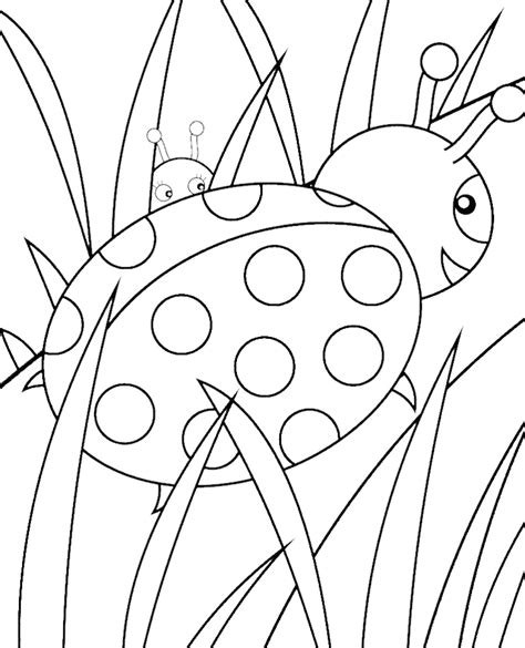 printable ladybug coloring pages az coloring pages