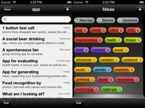 themes photos app ideas idea generation assistant iphone app review