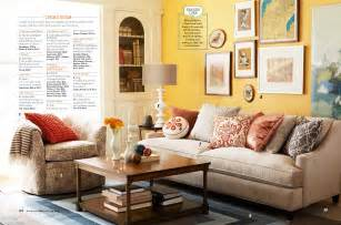 Outstanding yellow walls in living room on small house remodel ideas