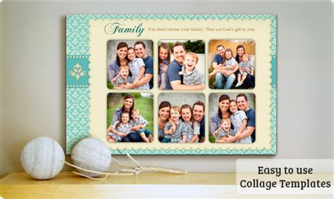Birthday Poster Templates Free Downloads Postermywall Family Photo Collage Templates