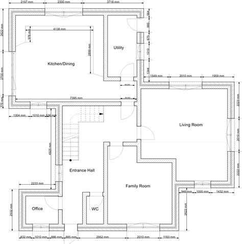 building plan 2d drawing gallery floor plans house plans