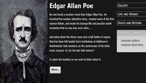 edgar allan poe biography research paper share this 187 blog archive 187 happy birthday edgar allan poe