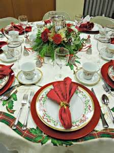 24 creative christmas table settings