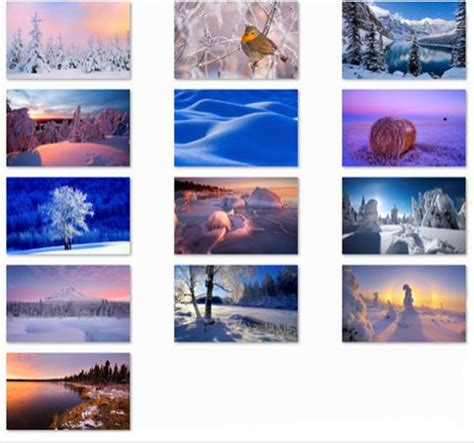 microsoft themes winter 187 check out the arctic theme for windows 7