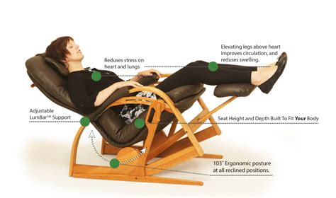 reclining position ergonomics made to fit your body brigger furniture