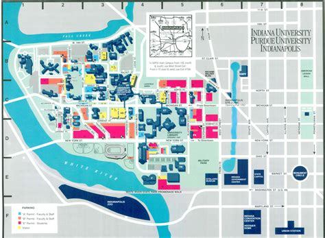 iupui map yesteryear cus has changed since early 90s stories weekly features inside iupui indiana