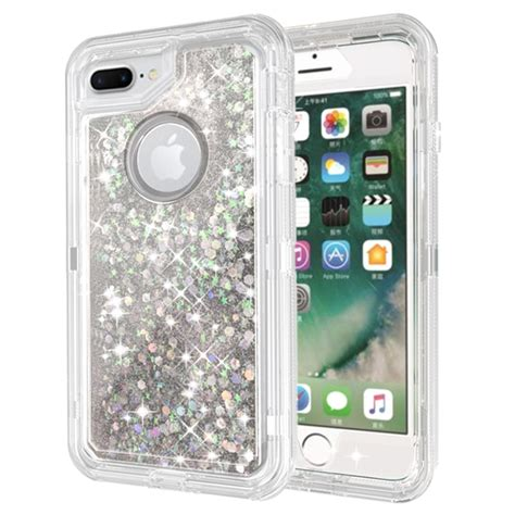 wholesale iphone    star dust clear armor defender case silver