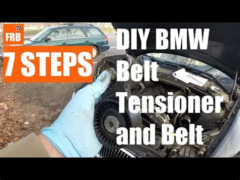 how much does a 2007 bmw 328i take bmw 3 series e90 belt and tensioner replacement diy how