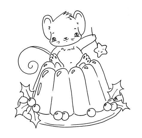 colouring pages christmas pudding sliekje digi sts christmas pudding rubber clear